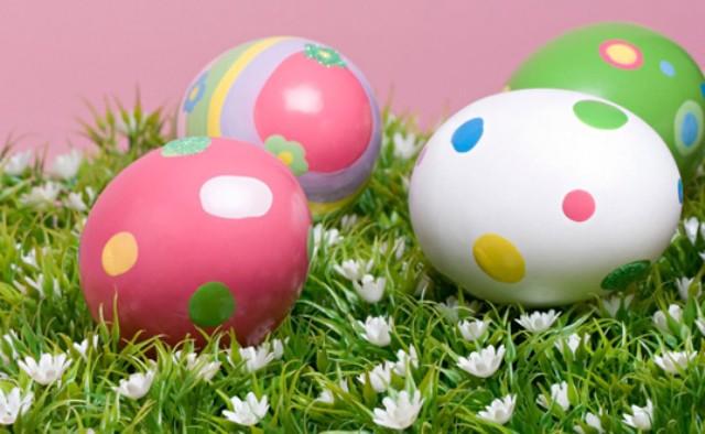 Pintar los Huevos de Pascua