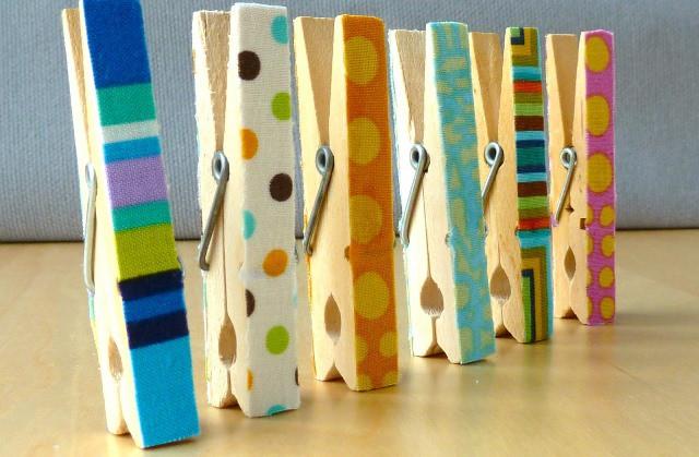 Ideas para el d a de la madre pinzas de la ropa decoradas - Ideas decoracion reciclando ...
