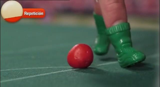 Fútbol con los dedos con las nuevas Botagol de MiniBabybel