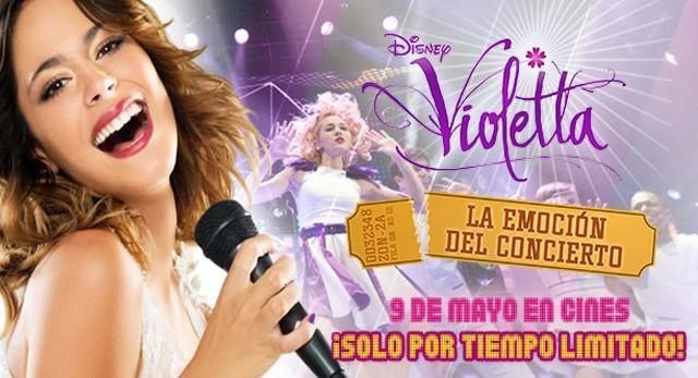 Violetta la emocion del concierto