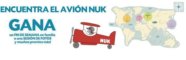 Encuentra el biberón perdido de NUK y gana estupendos premios