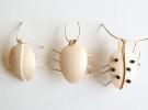 Manualidades infantiles: Escarabajos de madera