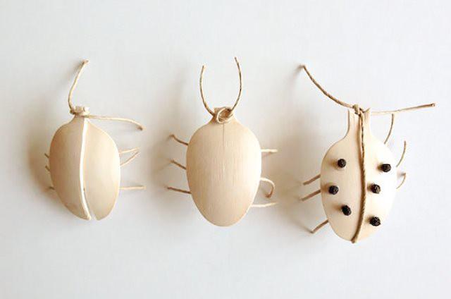 Escarabajos de madera