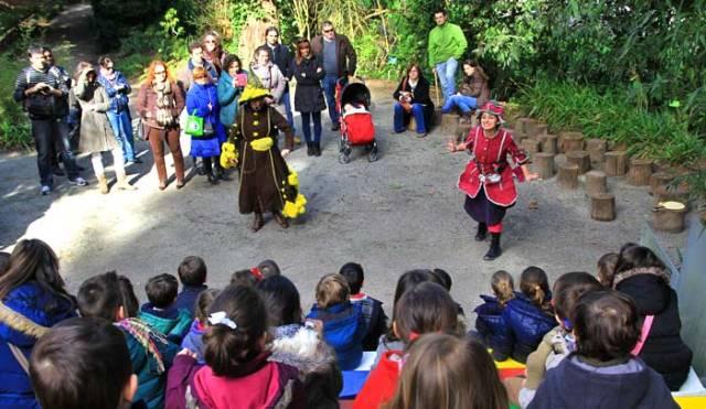 Actividades infantiles en el jard n bot nico de gij n for Actividades en el jardin