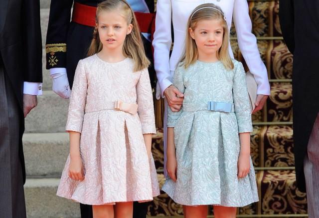 Leonor y Sofia protagonistas