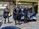 Los batmobile llegan al Parque Warner Madrid