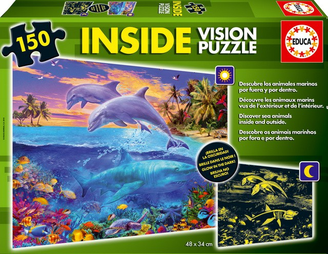 Nuevos puzzles con doble visión: dentro y fuera de los animales