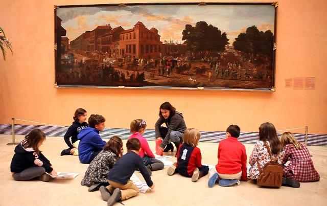 Museo Thyssen-Bornesmiza con niños