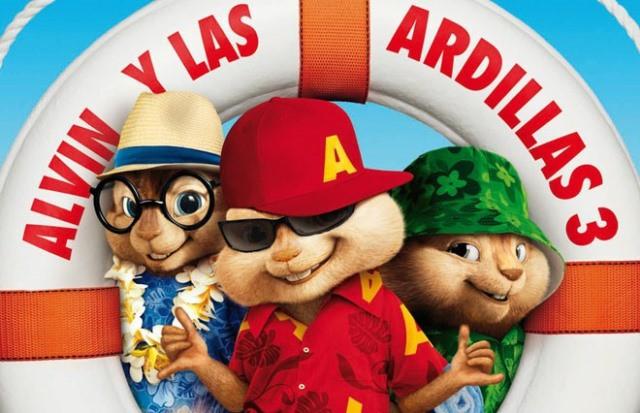 television Alvin y las Ardillas 3
