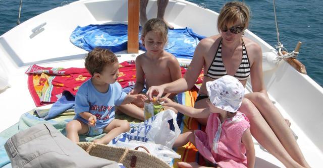 Cuidados navegar niños
