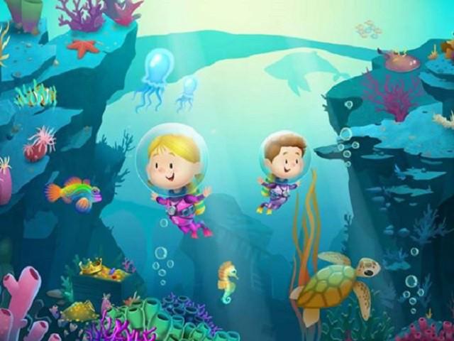 Aplicación recomendada: Explorium, océano para niños
