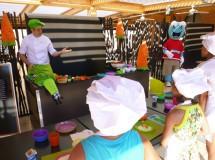 Taller culinario infantil en el Hotel Barceló Punta Umbría