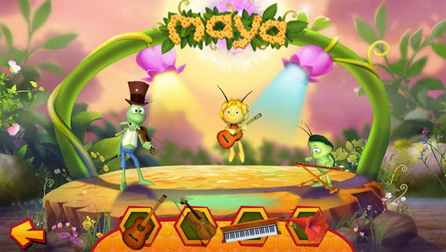 La abeja Maya llega también a nuestros teléfonos