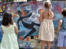 Talleres infantiles en la Plaza Gabriel Miró de Alicante