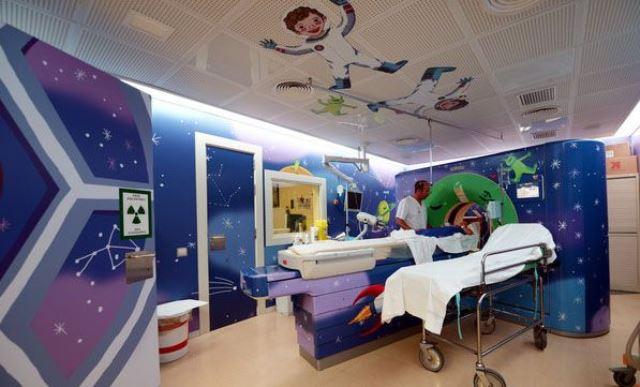 Hospital Sant Joan de Deu tac espacial