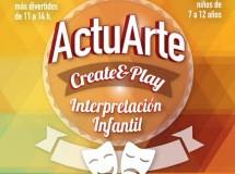 Actuarte, cursos infantiles para ser actor y aprender inglés