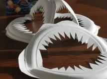 Manualidades de Halloween: Dientes de tiburón