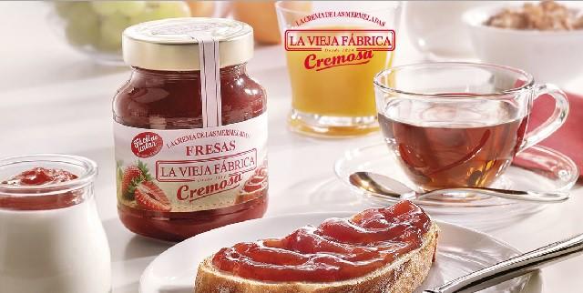 La Vieja Fábrica Cremosa, mermelada sin trocitos