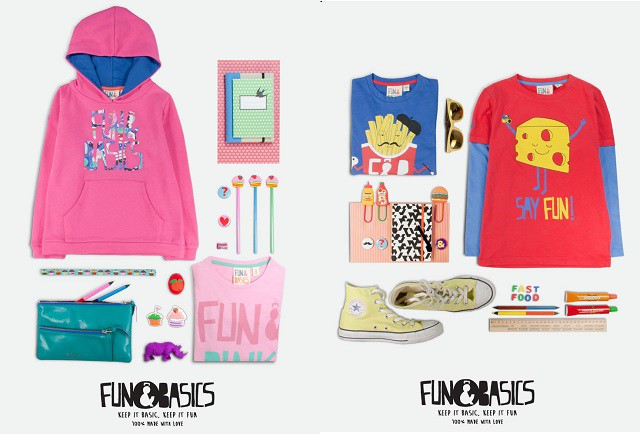 Fun & Basics Kids, a la moda con ropa divertida