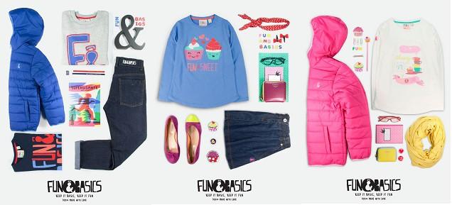 Sorteo: Consigue un fantástico pack de ropa Fun & Basics Kids