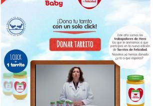 Hero Baby nos anima a donar tarritos virtuales