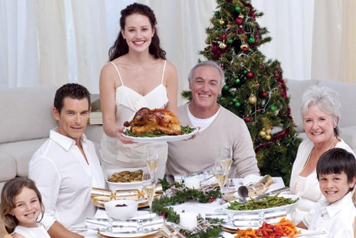 alergias y comidas navideñas