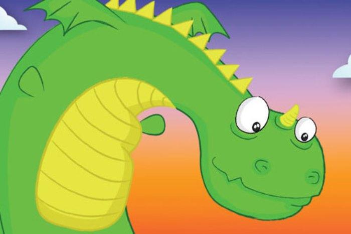 ascuas el dragon verde