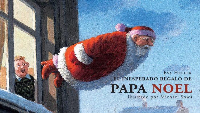 libro: el inesperado regalo de papa noel
