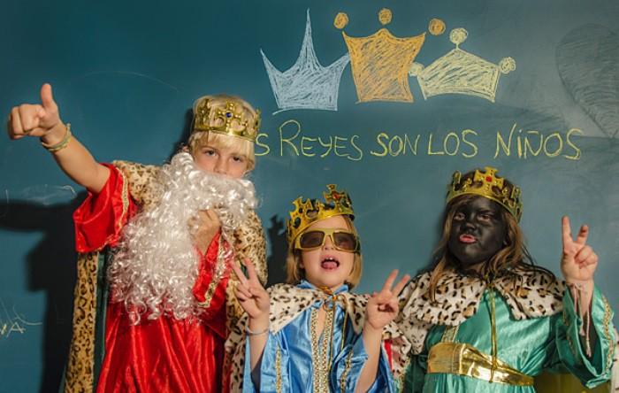 los reyes son los niños
