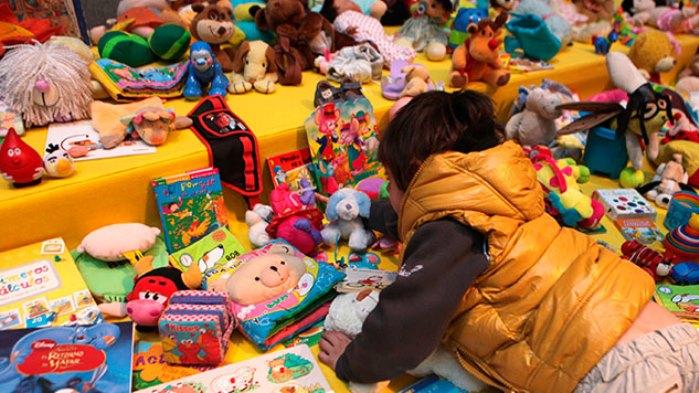 Sile Nole trueque de juguetes