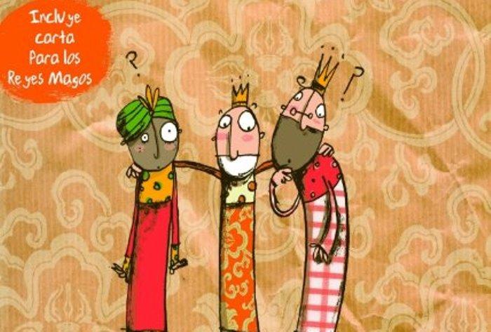 libro: tres reyes y un deseo