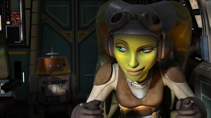 Día Star Wars Rebel en Disney Channel