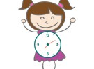 Carnaval: disfraz casero de reloj
