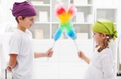 Tareas que podemos pedir a los niños según su edad