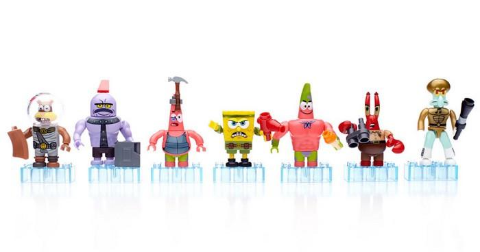 Bob Esponja y sus amigos salen de la gran pantalla