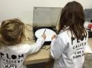 Dibujar con máquinas, taller de arte infantil en Art Madrid