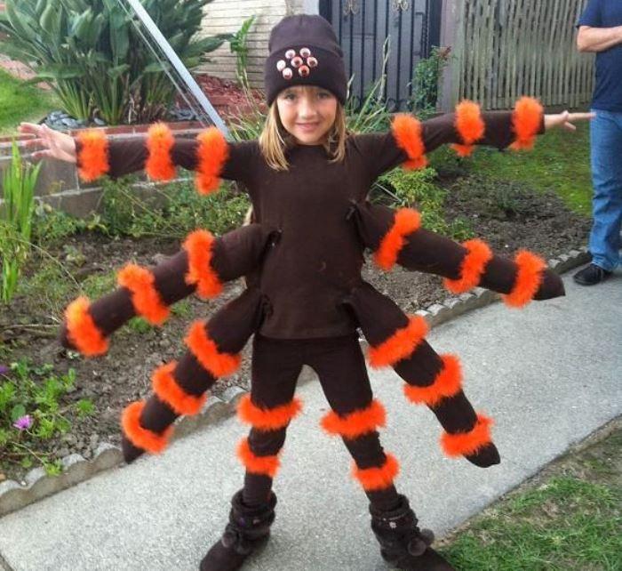 disfraz tarantula