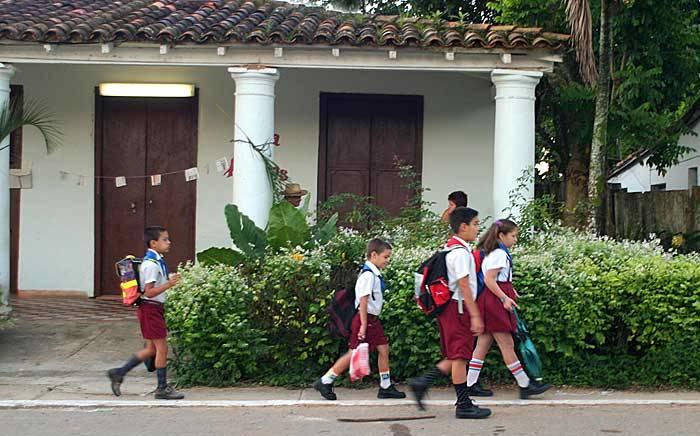 distancia del colegio