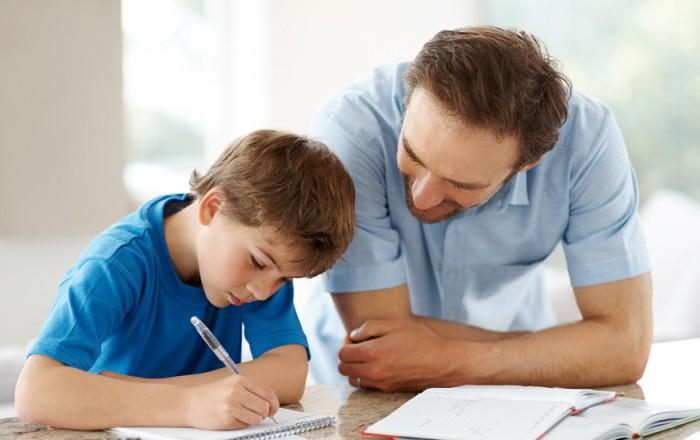 ayudar a estudiar al niño