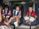 Quien evita la ocasión, evitará el peligro: los menores siempre protegidos en el coche