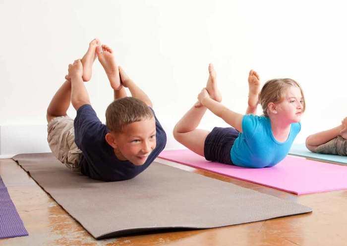 conducta infantil y yoga