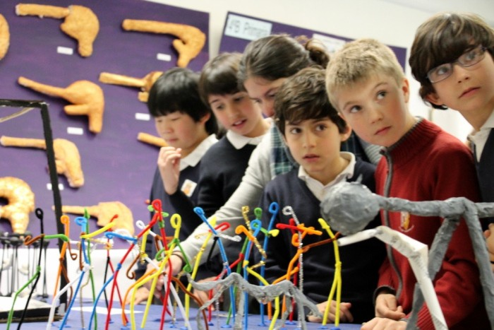 talleres infantiles de Giacometti