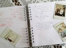 Libro de firmas de Comunión