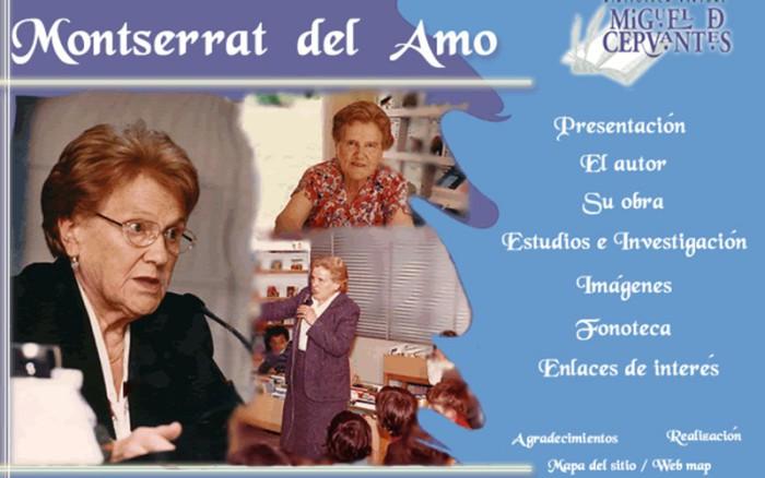 Fallece Montserrat del Amo