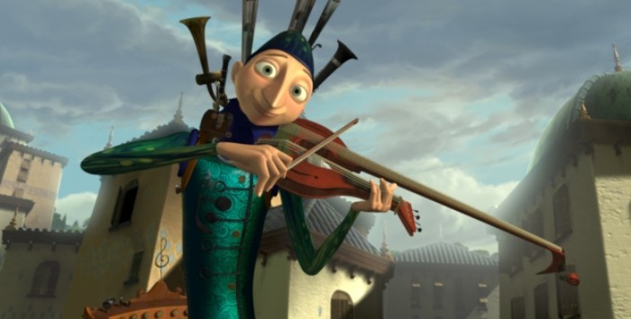 cortometraje El Hombre Orquesta