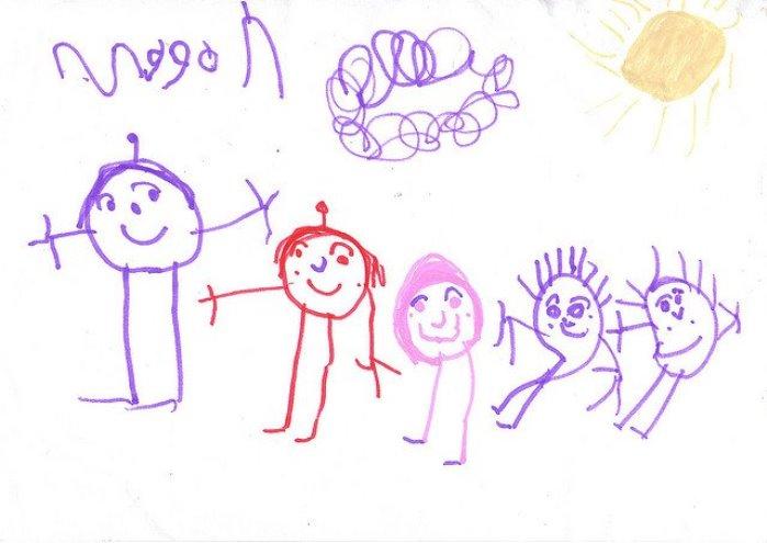 La figura humana en los dibujos infantiles