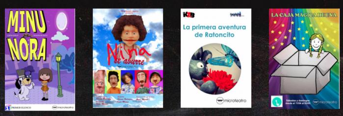 Microteatro infantil en Madrid