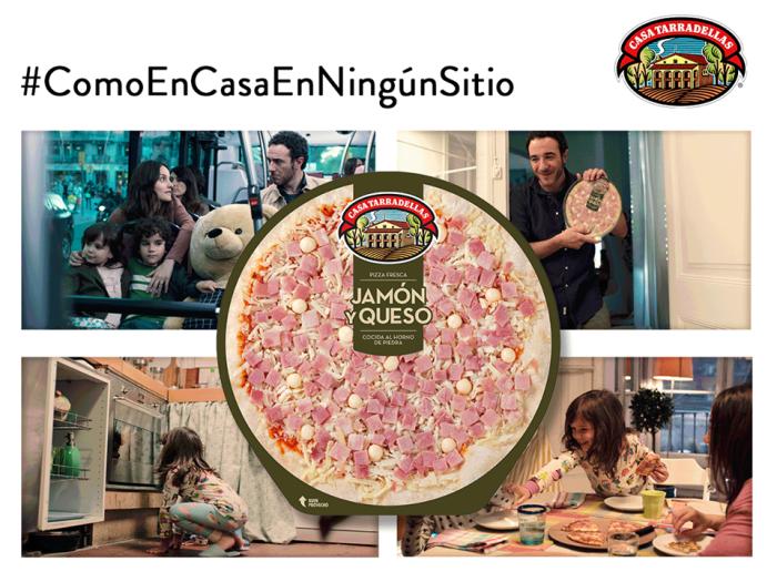 Pizza Casa Tarradellas para disfrutar en familia