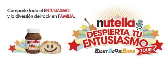 Despierta tu entusiasmo con Nutella