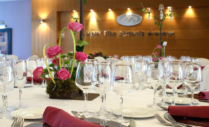banquete primera comunion